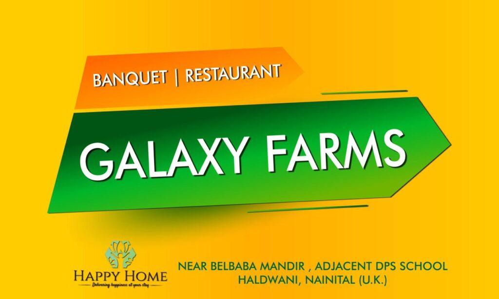 Galaxy Farms| Hotel Happy Home
